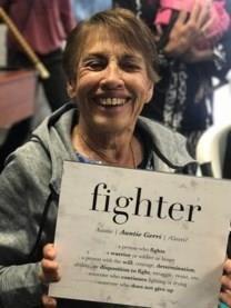 Geraldine Ann Frates obituary photo