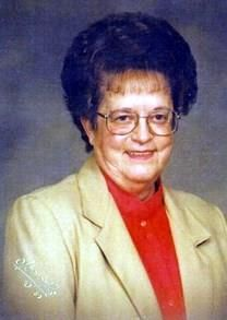 June McDavid Corley obituary photo