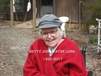 Betty June Long obituary photo