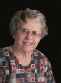 Dorothy Marlene Bloomquist obituary photo