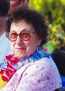Marian Edith Harp obituary photo