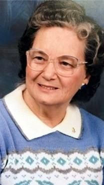 Pansy Maner obituary photo