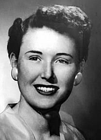 Betty M. Downes obituary photo