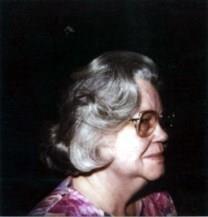 Gladys Lavern Waskow obituary photo
