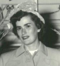 Agnes Florine Stauffer obituary photo