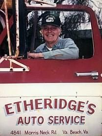 James Edward Etheridge obituary photo