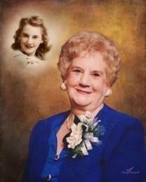 Doris Jane Lang obituary photo
