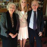 Mom, Dad and granddaughter Lauren