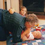 Grandma, Emma and Alex