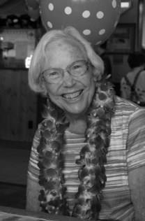 Georgena Edgin obituary photo