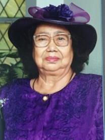 Domitila Jacobo obituary photo