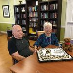 Dad and mom's 66th Anniversary, celebrated at Saint Annes Retirement Community