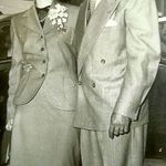 Richard and Joan's engagement picture, 1951