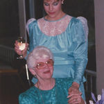 Edith and Karen 1984