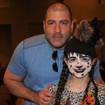 John and Aly at Lion King play