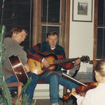 Mike, Dennis and Meaghan Lamb, 1993, Jamming!