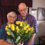 John and the love of his life on their 50th Wedding Anniversary