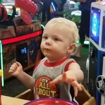 Devin at Chuckie Cheese