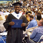 Grandson, Wesley, earns his college degree