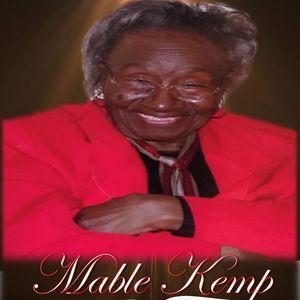 Mable W. Kemp