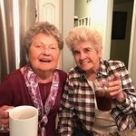 Mary Lou and Sister in law Patricia Holscher