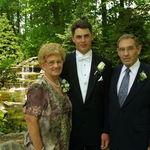 Ken Jr.  with Grandma and Grandpa Peake