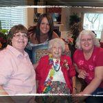 Maxine's 90th! Janey, Stacie, Maxine & Shirley
