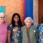 Birthday Lunch 2015. Shirley, Connie, Maxine & Janey