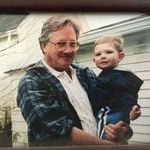 George with his grandson, Ryan