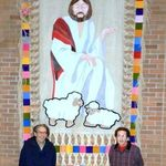 From St. Jude's website on January 19, 2018... Bill and Marilyn Wunderlin are always giving back to St. Jude. Here they are after preparing the First Reconciliation Banner to be used this weekend.