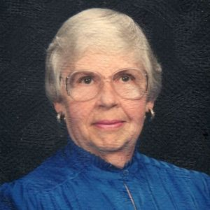"Florence ""Flo"" Skoglund Obituary Photo"