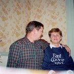 Happy couple!  Mid '80s