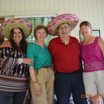 Dad's 81st Birthday Party with Laurie, Maurine, Bob & Jeanie
