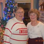 Bob & Maurine on Christmas Eve