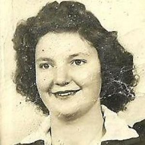 Vernie Mae Mauney Wall Obituary Photo