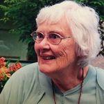 Portrait of Mary  Burnside Mangelsdorf