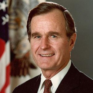 George H.W. Bush Obituary Photo