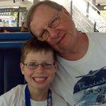 Dad & Trey at Disney