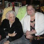 Me and Mom Reis, Christmas 2014