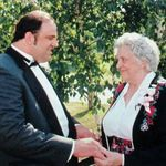 One of my favorites of Keith and his Mom on our wedding day, June 2014