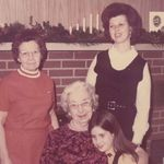 Four generations: Helen, Verne, Andrea, and Barbara (left to right).