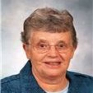 Sister Joanne Brown, RSM Obituary Photo