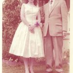 Al (her father) and Carol - 1960