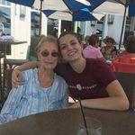 Bridget and Grandma in Gloucester, 2018