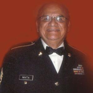 """CSM Charles  """"Carlos"""" A. Mata, US Army, (Ret)"""