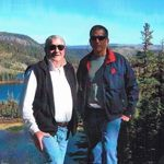 Jerry and Jeff in Mammoth Lakes 2005