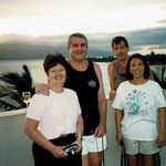 Jerry, Dawn, Jeff and Shirley on vacation in Maui, Summer 2000