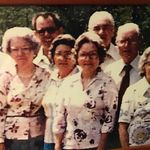 Snell family children  Emily is the third woman from the left. Men: Allen, Bubba, Bunny, Marion, Julius Women: Josie, Mary, Emily, Ida Lee