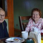 Lorraine and her husband Shine