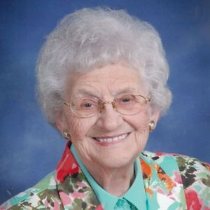 Ethel Scholten Obituary Photo